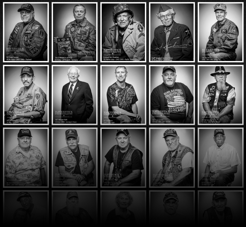 Faces of Freedom Project Grid