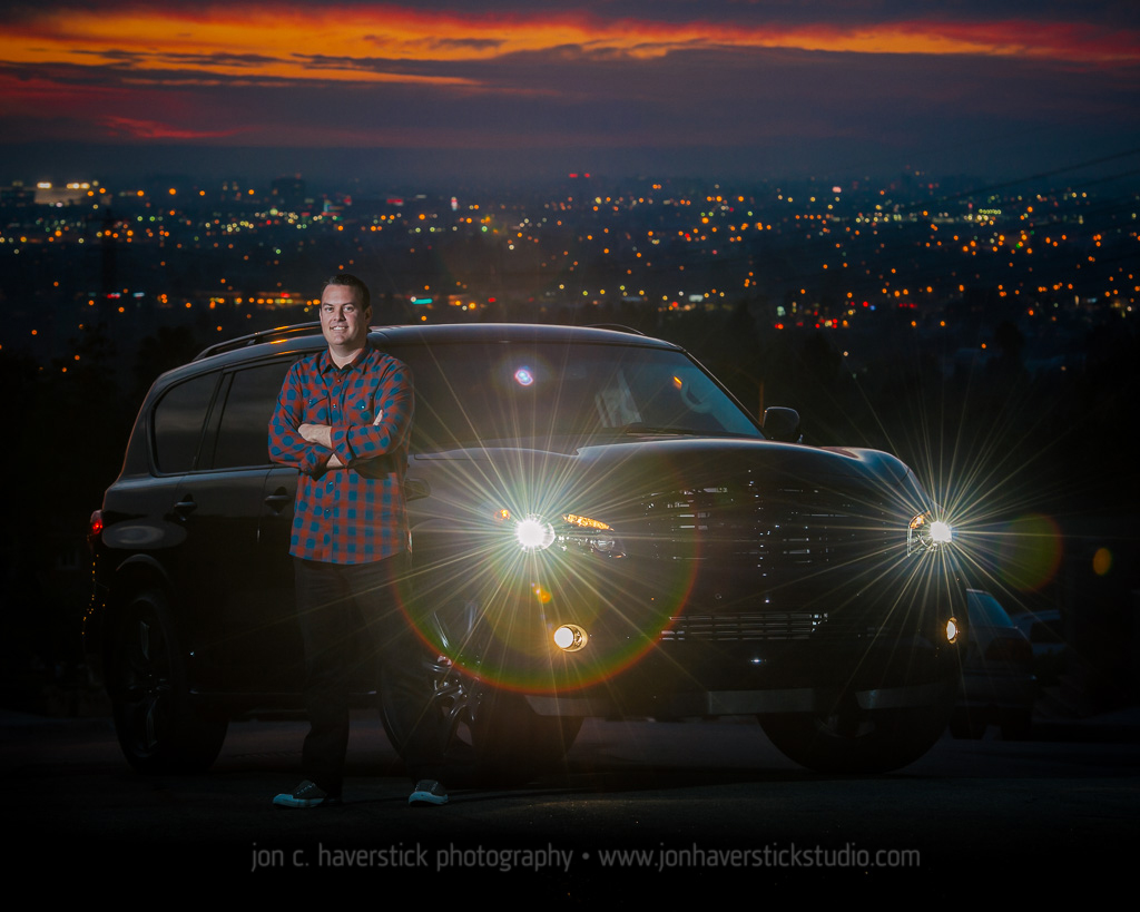 2014 Infiniti QX80-Portait-Sunset-Jon C. Haverstick Photography