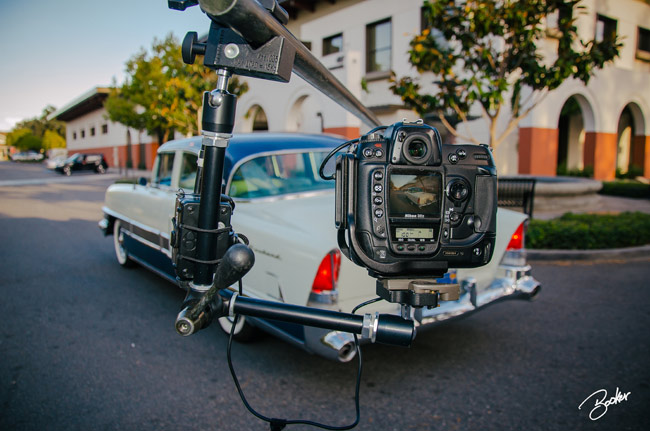 Behind the Scenes Rig Shoot - 1955 Packard Patrician