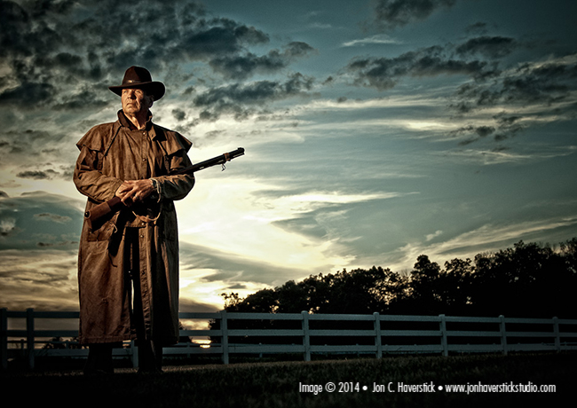 HSS portrait of Hoosier Rancher