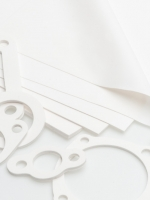 Product photography - die cut rubber shapes