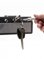 Product photography-key rack guitar amplifier