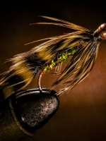 product photography - fly-fishing fly closeup