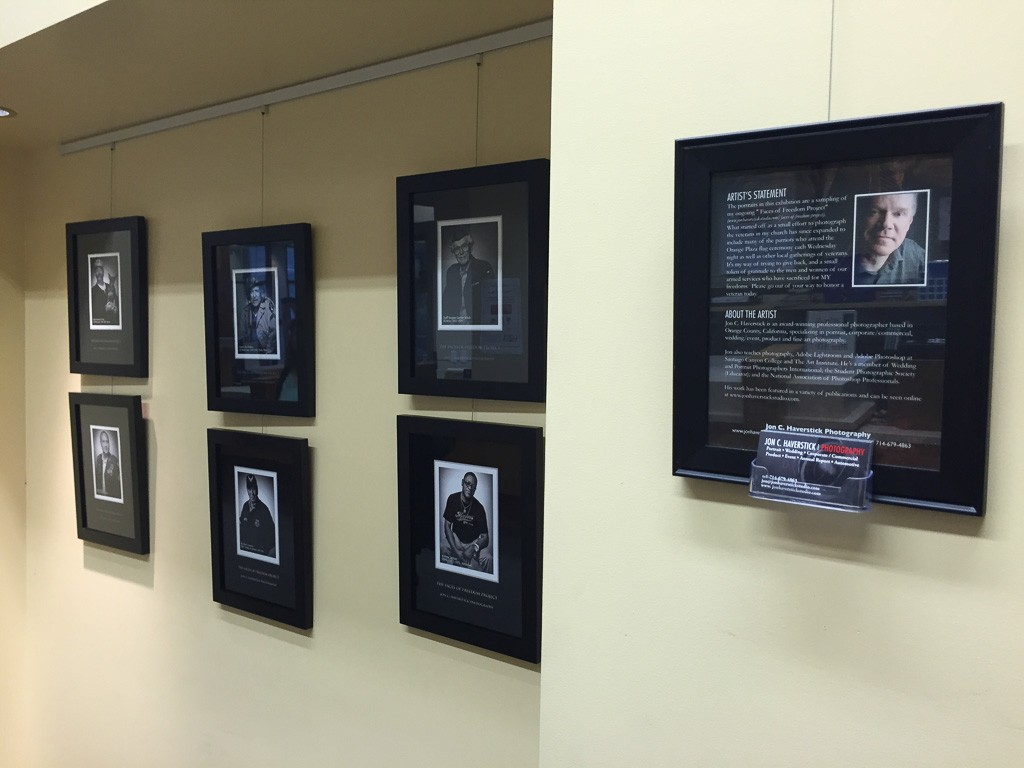 Faces of Freedom Display OPL-JCHP-3