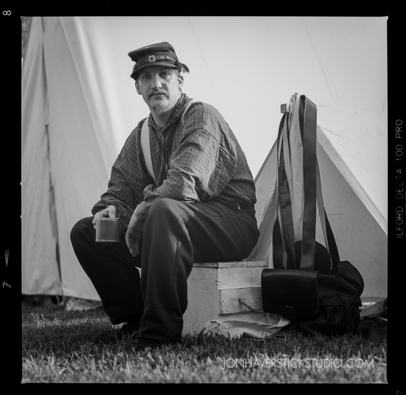 Civil War HB-Hasselblad-Ilford Delta 100 Pro-Jon C Haverstick Photography-02
